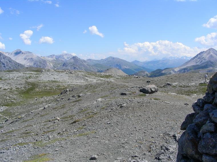 Monte Schera che non è stato possibile raggiungere a causa del cattivo tempo.