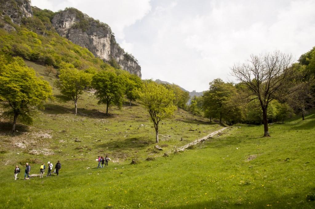 Discesa dal Monte Sant'Agata